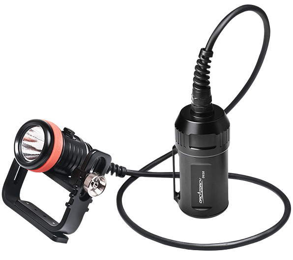 OrcaTorch D620 Canister Dive Light