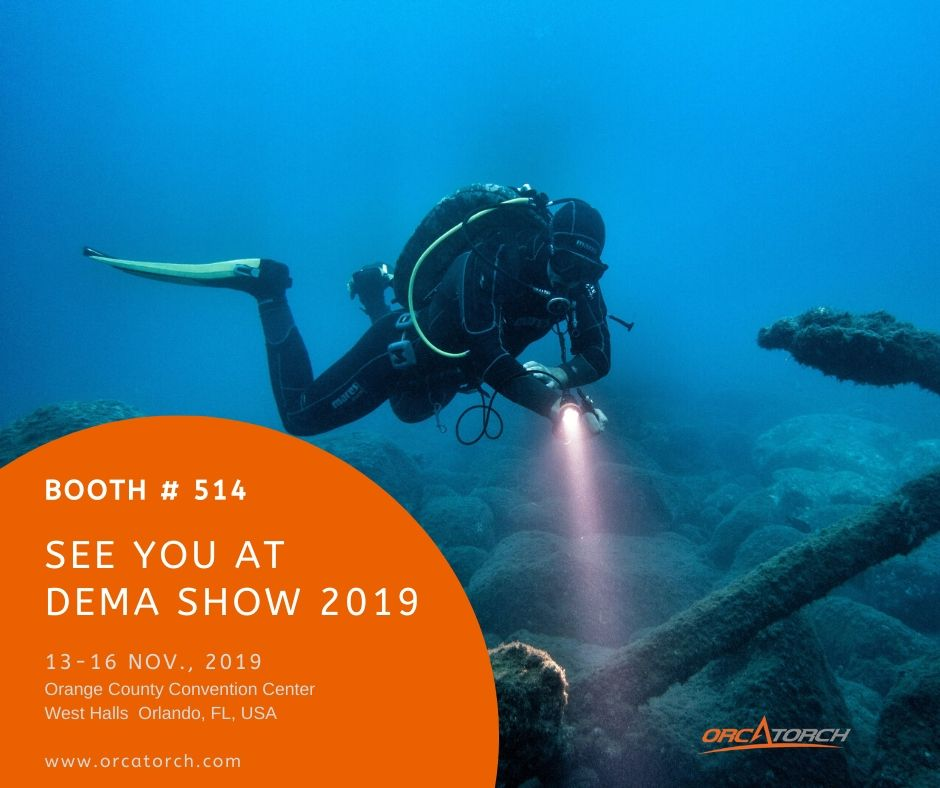 OrcaTorch DEMA Show 2019 Booth # 514