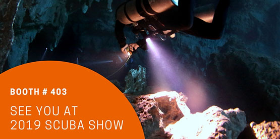 OrcaTorch Scuba Show 2019 Booth #403