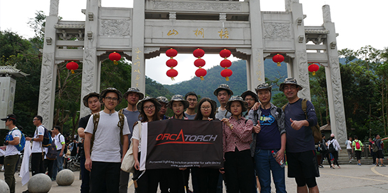 OrcaTorch Team Challenged the Wutong Mountain