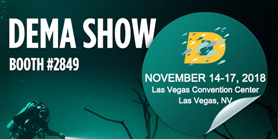 OrcaTorch Will Attend DEMA Show 2018 Booth#2849