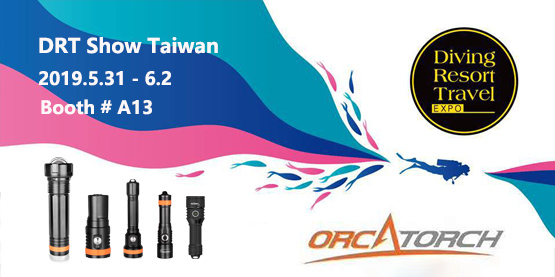 OrcaTorch DRT Show Taiwan 2019 Booth#A13