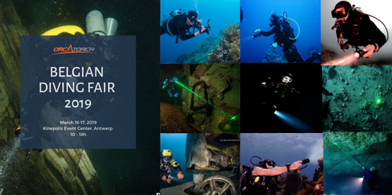 OrcaTorch Belgian Diving Fair 2019