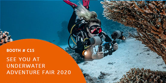 OrcaTorch Underwater Adventure Fair 2020 Poland #C15