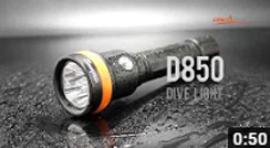 Introducing OrcaTorch D850 Dive Light