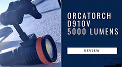 ORCATORCH 5000 Lumens Video Dive Light D910V Review
