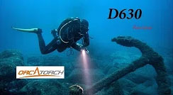 Orcatorch D630 Perfect Canister Light for TEC Diving  | REVIEW