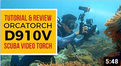 Brighten Up Your Underwater Videos | OrcaTorch D910V