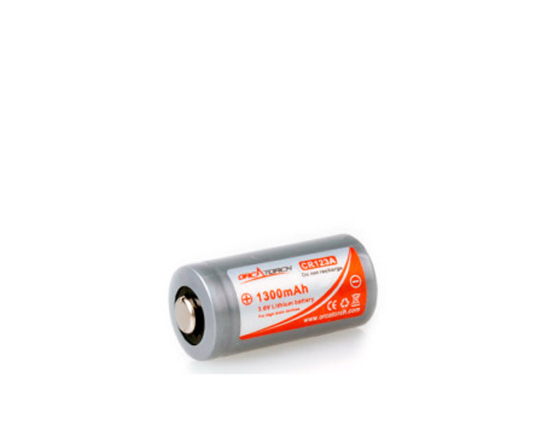 CR123A Battery 1300mAh