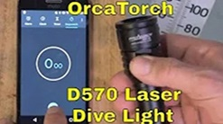 OrcaTorch D570 dive light review and giveaway