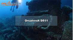 OrcaTorch D511 Dive Torch Max 2200 Lumens