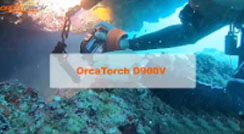OrcaTorch D900V Multifunctional Underwater Video Light