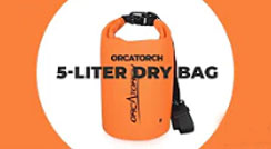 OrcaTorch 5L Waterproof Dry Bag