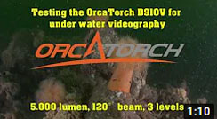 Review of the OrcaTorch D910V Video Light
