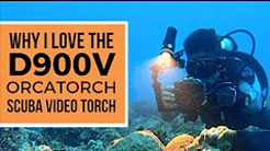 The Best Scuba Diving Video Torch | OrcaTorch D900V Review