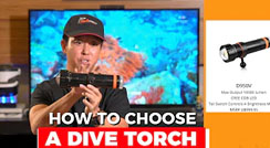 OrcaTorch Facebook Live#1 / How To Choose A Dive Torch