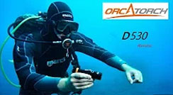 Review of OrcaTorch D530 Dive Light