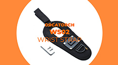 How to Use OrcaTorch WS02 Wrist Strap?