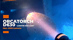 Wreck Diving with OrcaTorch D630 Canister Light