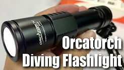ORCATORCH D520 Scuba Diving Light Review
